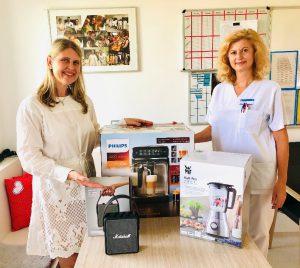Stationsleitung Sanja Bilandzija (rechts) und Dr. Nadine Westphal